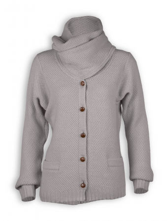 Strickjacke Malia von Slowmo in taupe via Mr. & Mrs. Green