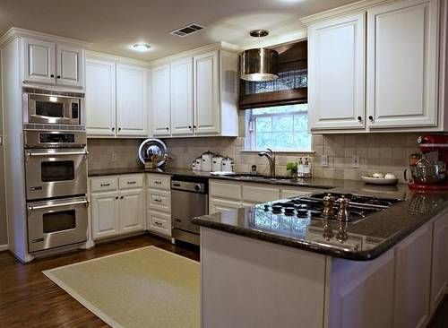 U Shaped Kitchen Renovation the kitchen is bitchen Pinterest