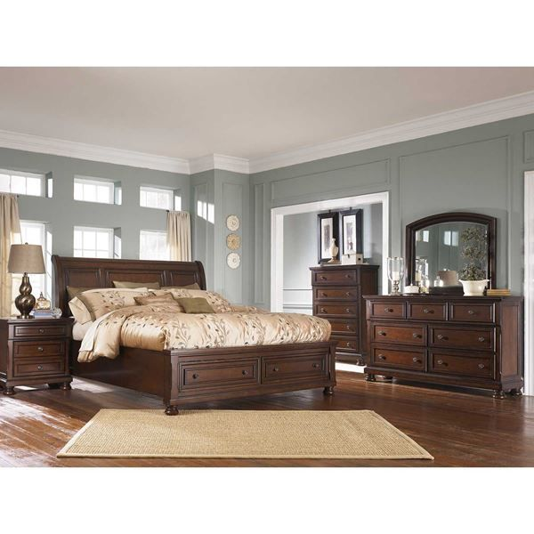 Take A Look At The Rich Classic Style & Contemporary Lines Of The Fair Rustic Bedroom Sets Design Decoration