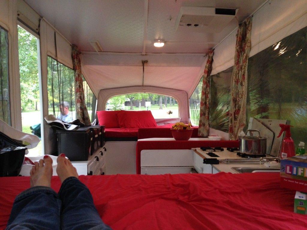 Best 25 popup camper remodel ideas on pinterest pop up for Pop up camper interior designs