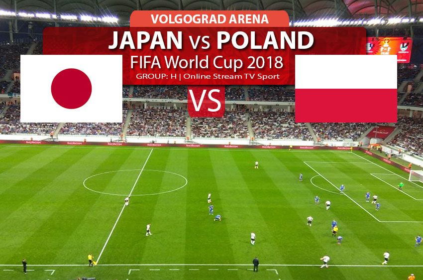 Watch Japan vs Poland online streaming in HD, FIFA World