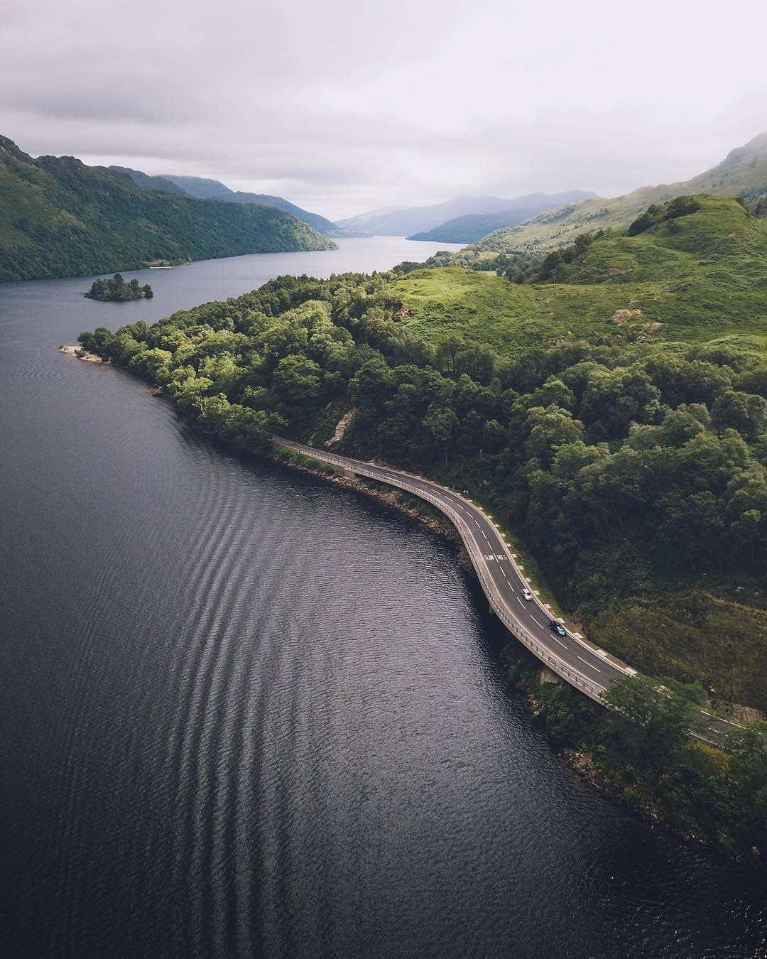 Visitscotland On Instagram It S Always Nice To Drive The Route Along The Side Of Loch Lomond As You Know M Loch Lomond Loch Lomond Scotland Scotland Travel