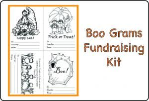 boo grams fundraising kit a great little fundraiser and fun activity for your school - Halloween Fundraiser Ideas
