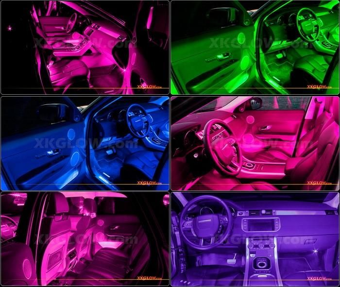 Pink 36 Led Car Interior Seat Dashboard Trunk Underglow
