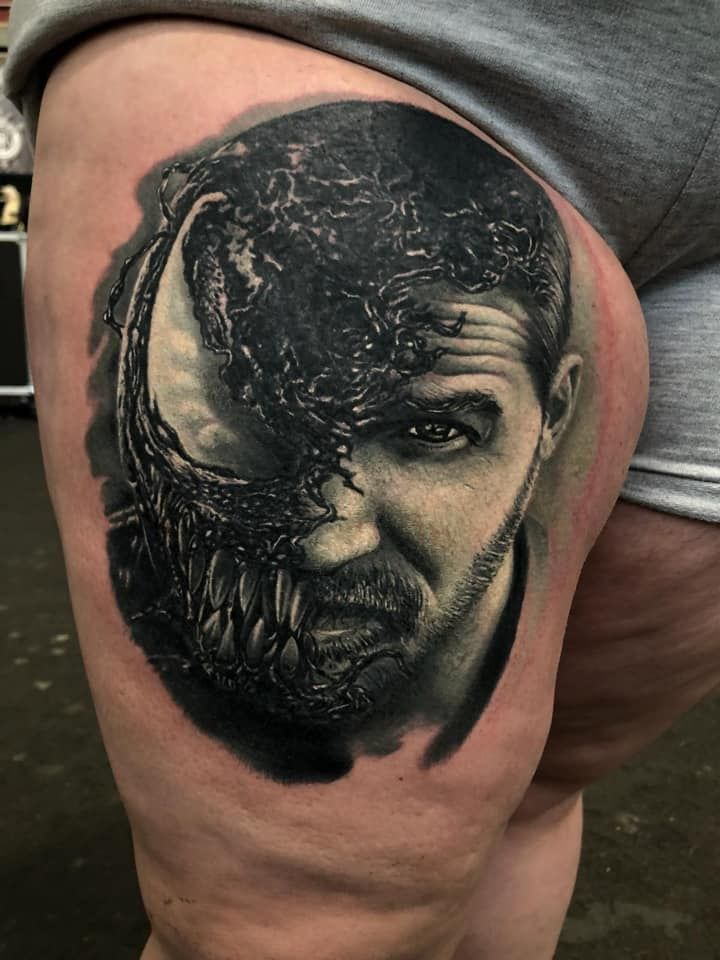Venom Tattoo by Lorand Limited Availability @ Revelation