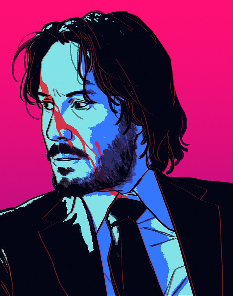Tumblr Ol3bcawgzc1qhfjneo1 1280 Png 800 1017 Keanu Reeves Movie Art Fan Art