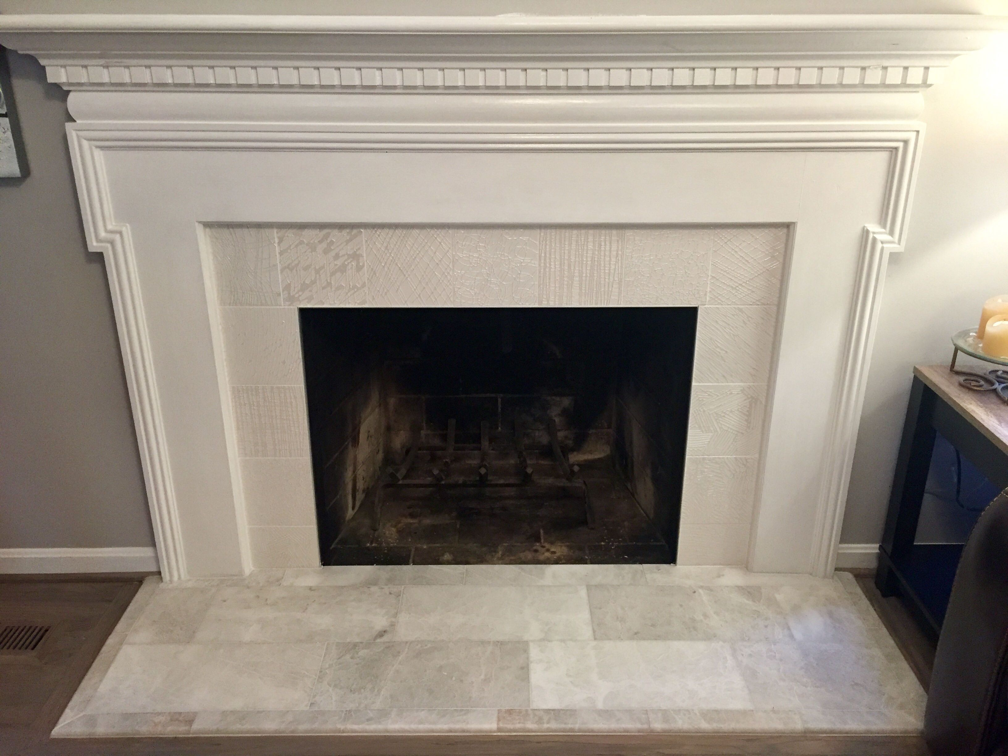 Home Is Where The Hearth Is Fireplace Facing Fireplace Tile