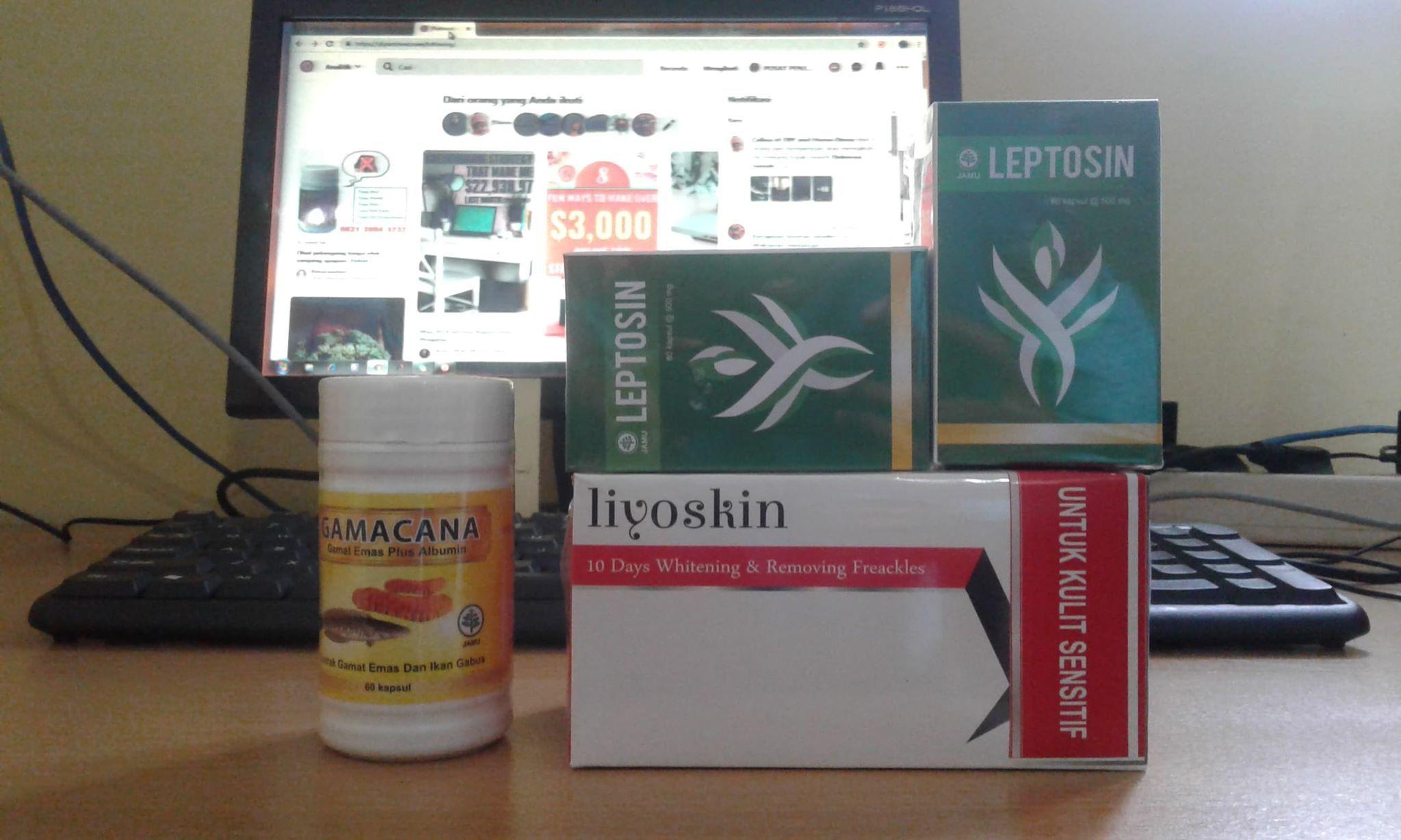 Obat Diet Herbal Alami Leptosin Kulit sensitif, Herbal
