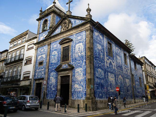 Lisbon Portugal Architecture Blue Tile Church Blue Tiles Architecture Porto