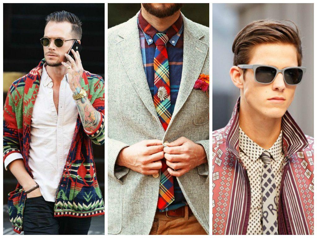 Mix de texturas, cores estampas acompnhando a trend também da moda feminina.