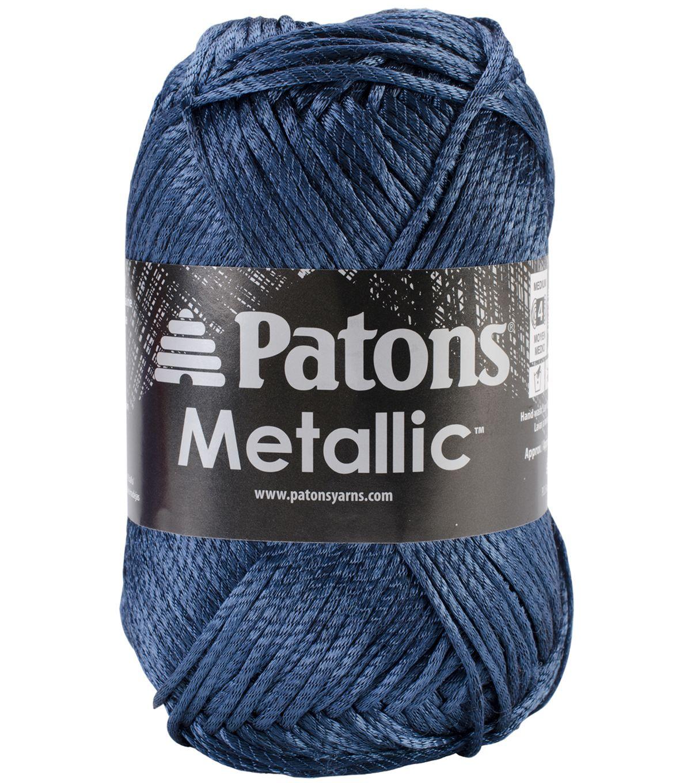 Patons Metallic Yarn | Yarn | Pinterest | Metallic yarn and Yarns