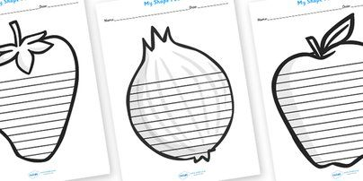 Twinkl Resources >> Autumn Themed Shape Poem Writing