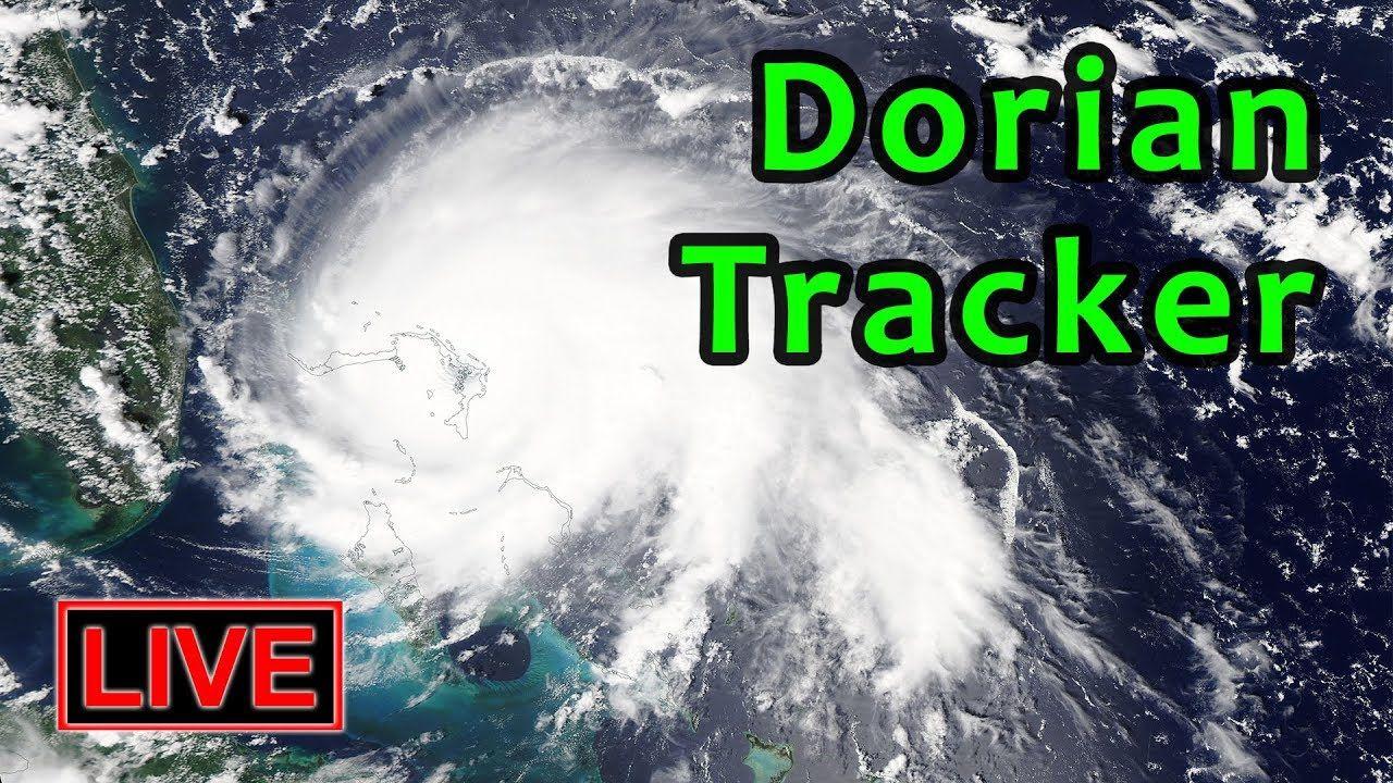 Live Hurricane Dorian Tracker Multi View National Hurricane Center American Freedom New World