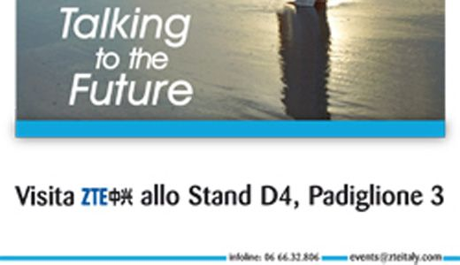 Zte (#grafica #pubblicitaria: #impaginazione di un #flyer per evento fieristico e relativa #stampa su supporti cartacei)