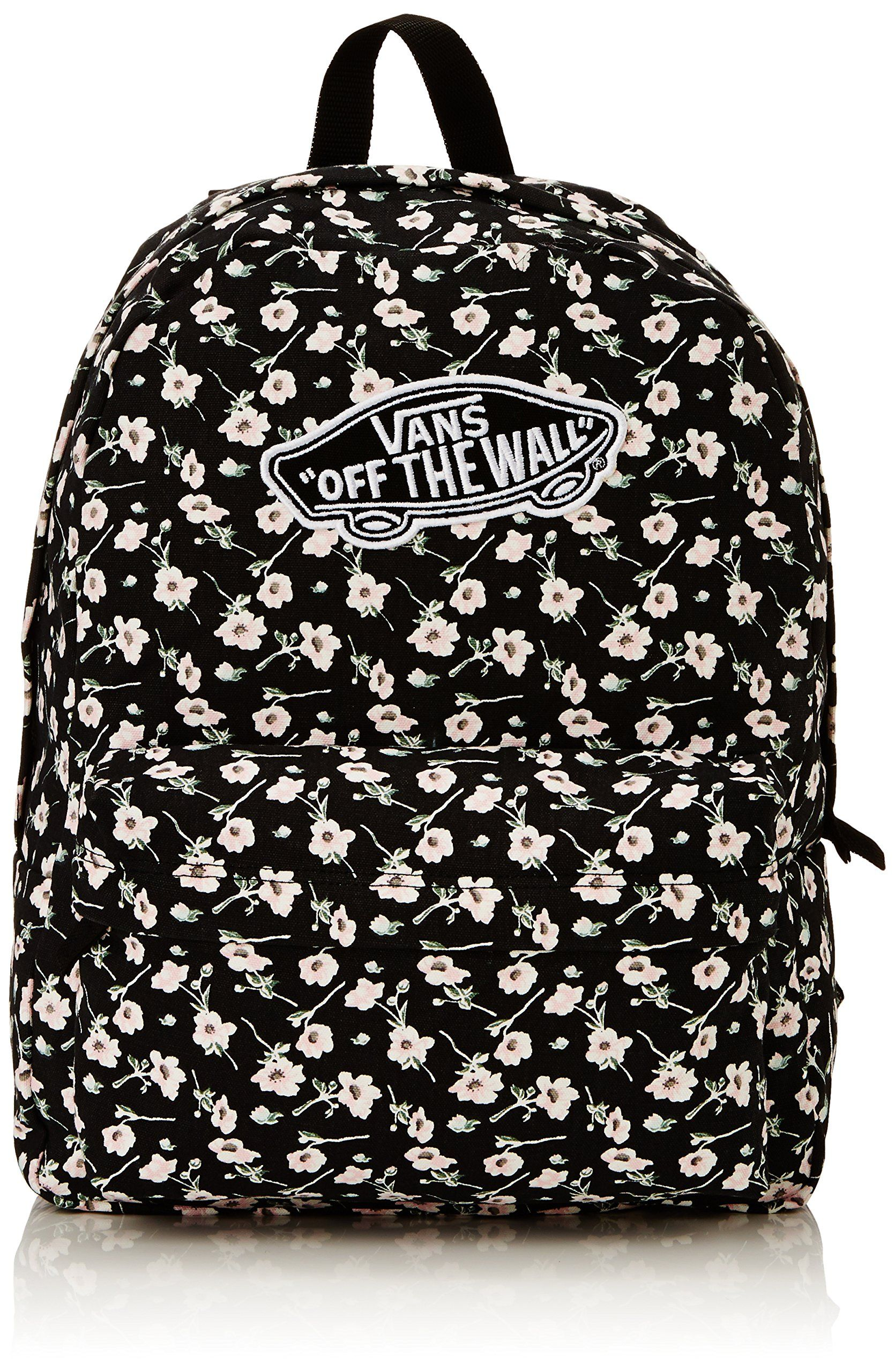 Vans G Realm Backpack, Women's Bag, Black (black/black), One Size ...