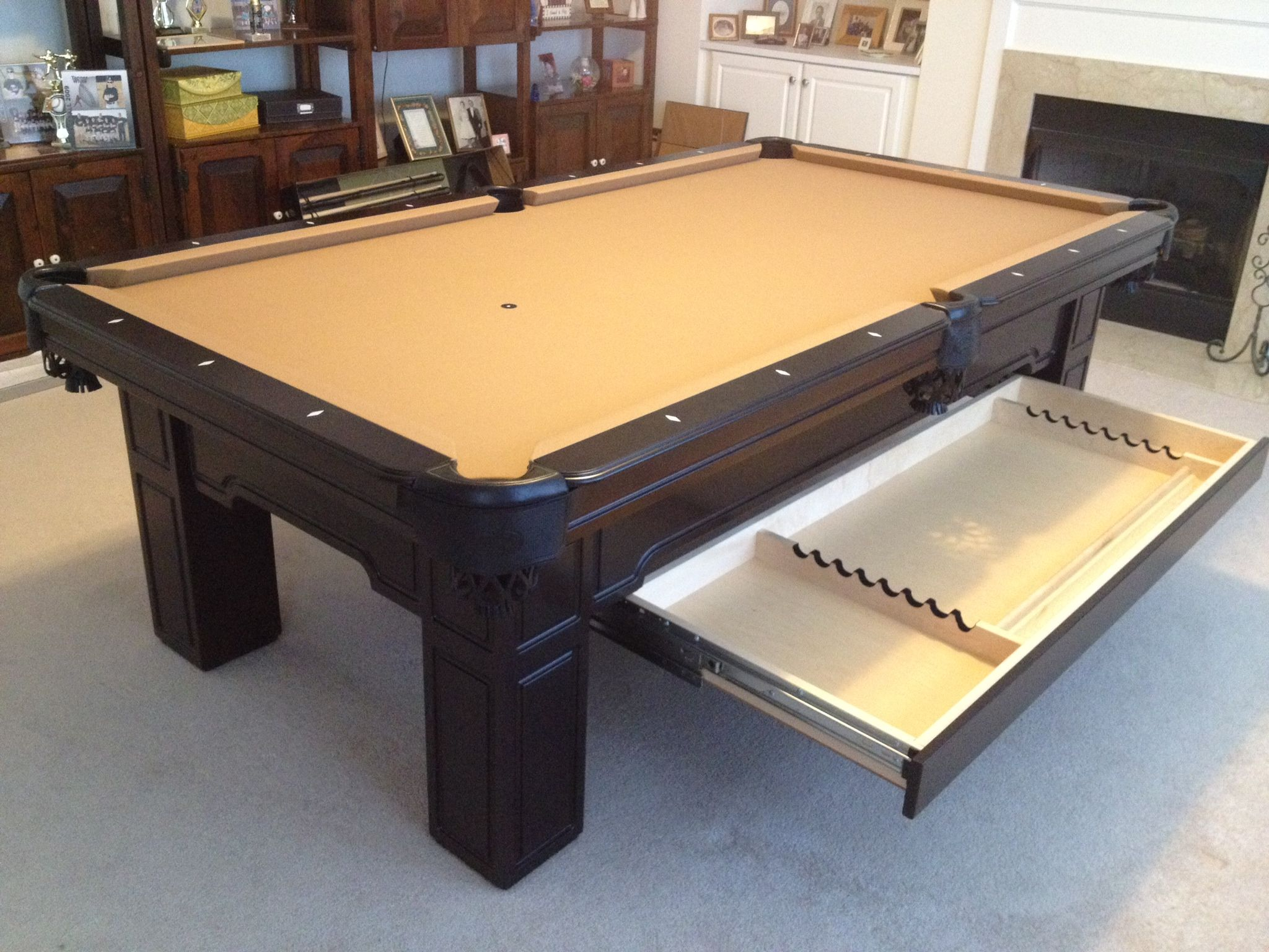 Olhausen Huntington With Drawer By Everything Billiards