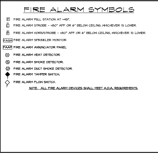 Fire Alarm Symbols Wiring Diagrams And Symbols Electrical Industry