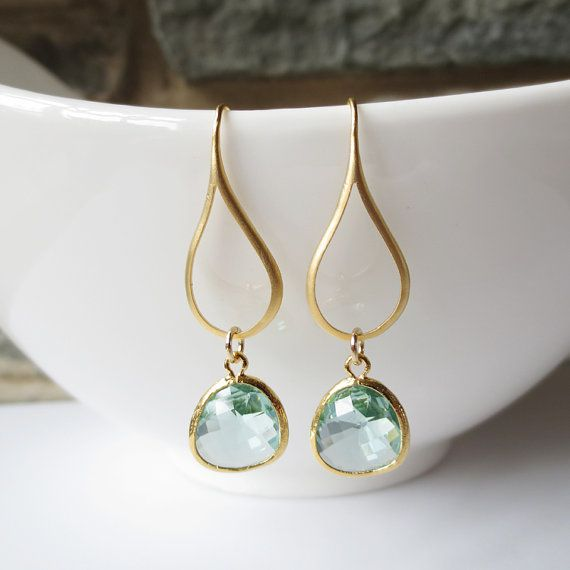Might Treat Myself Sparkle Dangle Earrings Drop Wedding By Ellejewels 21 50