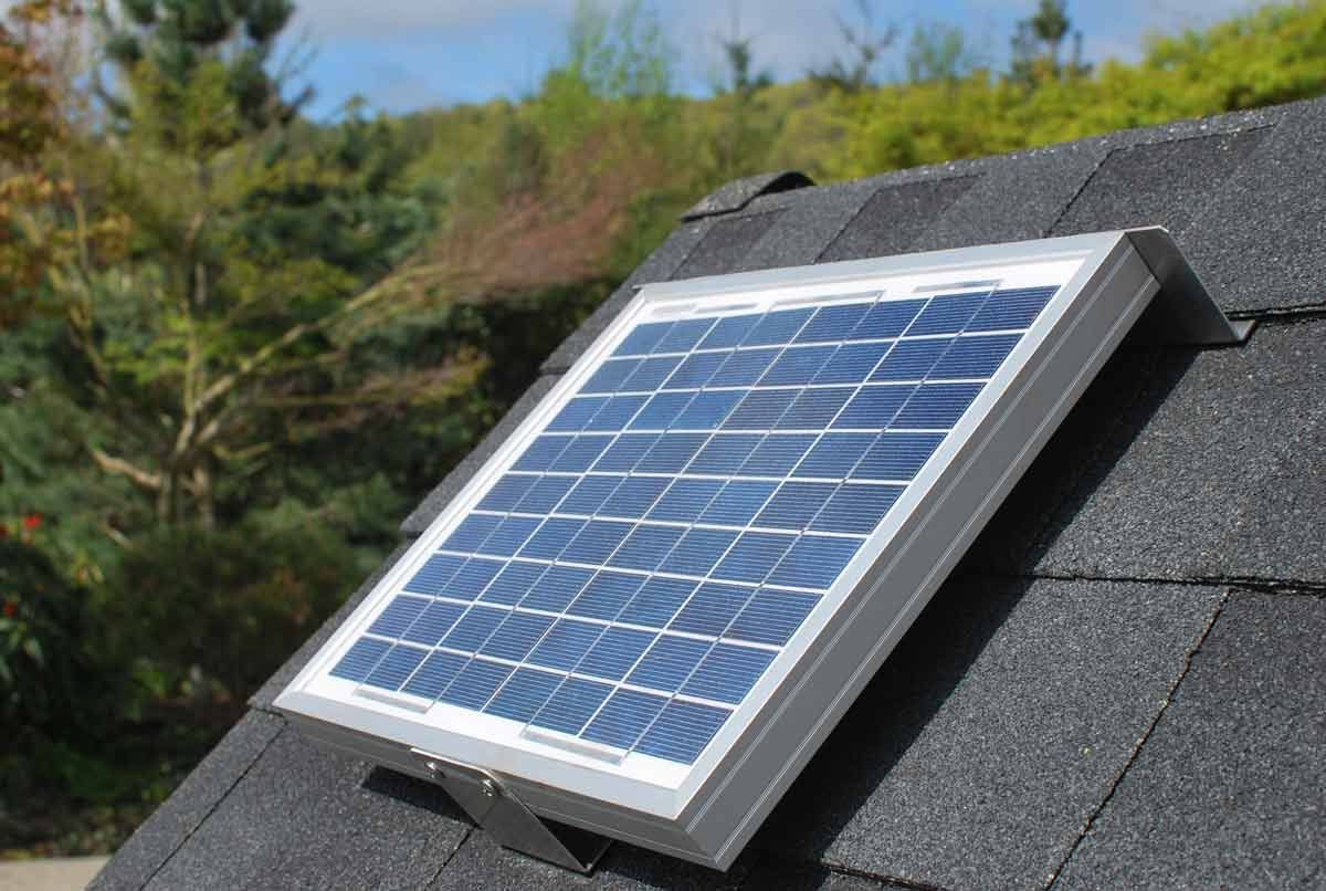 Solar Attic Fan For Ridge Vents Solar Roof Vent Solution Solar Ridgeblaster You Can Find Out More Details Home Remodeling Solar Roof Vents Solar Attic Fan