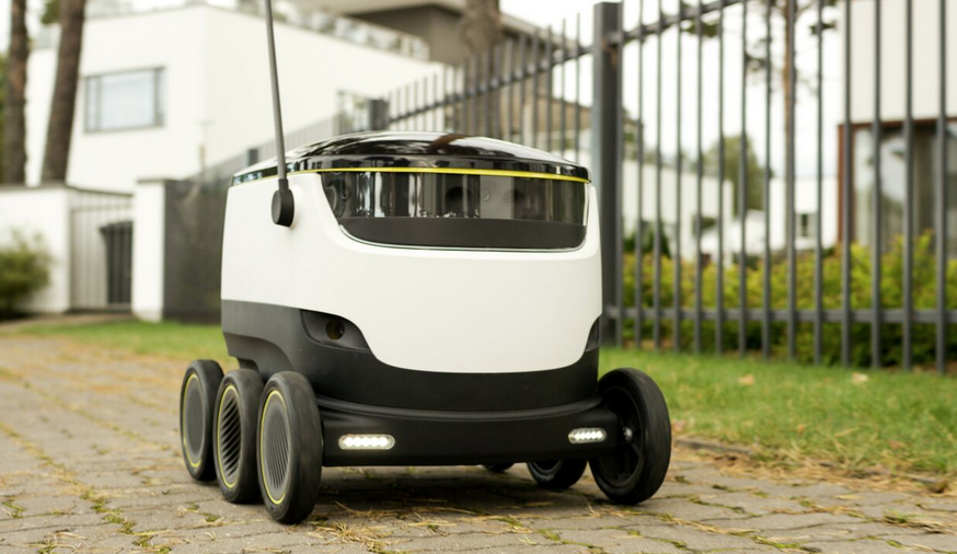 One of the newest innovations in the works right now, a self driving delivery robot! This robot isn't the fastest, estimating only at about 4 miles per house. However, it is designed to do small tasks such as food deliveries. It is said to be able to do so in less than 30 minutes, what a break through! O Scott