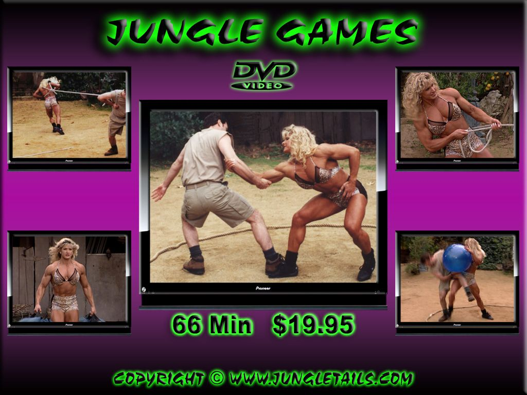 The Jungle Games Was A Battle Of The Sexes Game Show Produced By