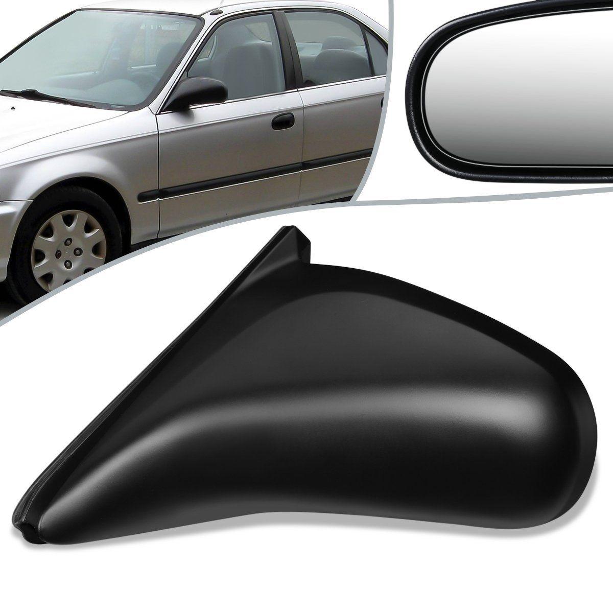 96 00 Honda Civic 2 Door Manual Left Driver Side Door Mirror Ho1320122 Honda Civic Mirror Door Civic