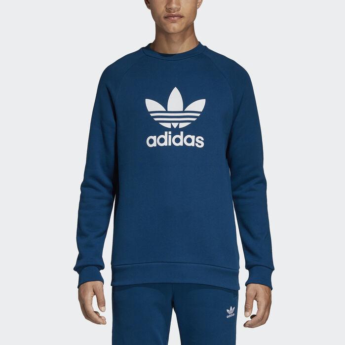 Details about Adidas Originals Men's Trefoil Hoodie White Black du7780