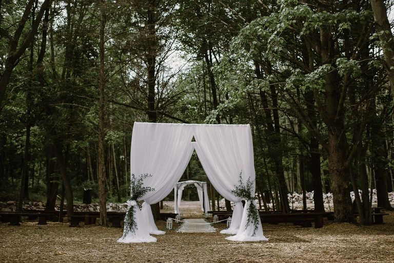 Wedding in the Woods Wedding in the woods, Wisconsin