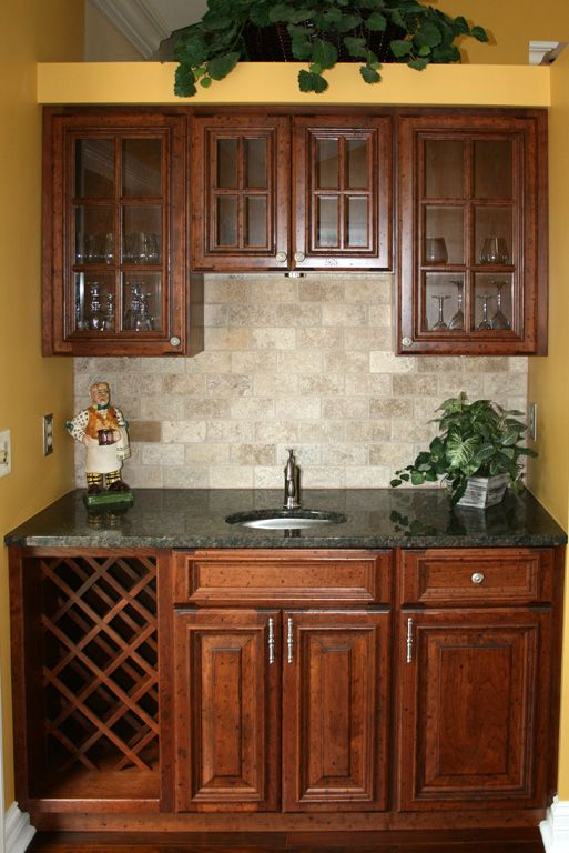 Bon Kitchen Floor Tile Dark Cabinets | Kitchen Cabinets St Louis Kitchen  Remodeling   Cherry Kitchen Cabinet