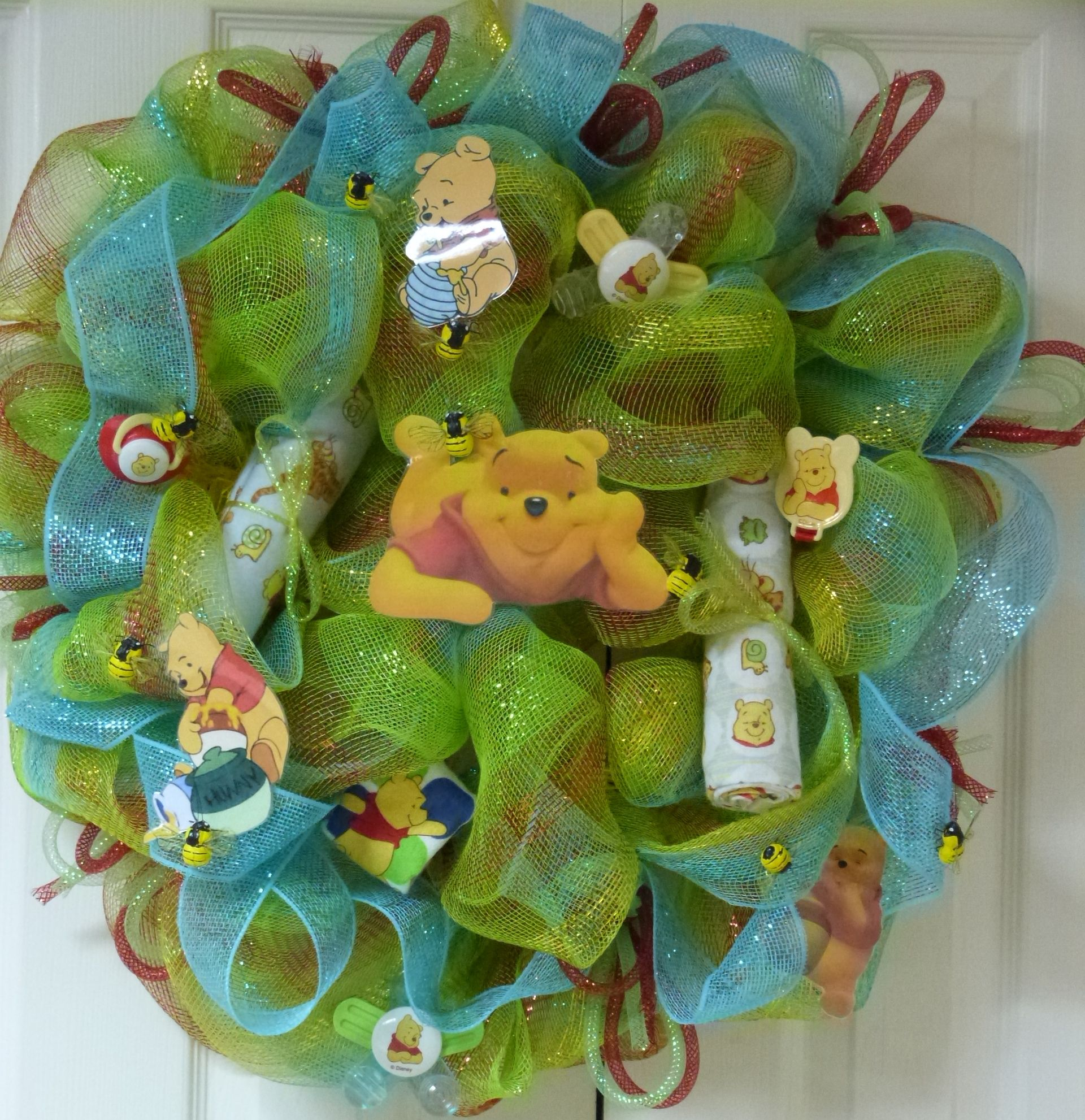 Winnie the pooh baby wreath winnie the pooh - Habitacion winnie the pooh ...