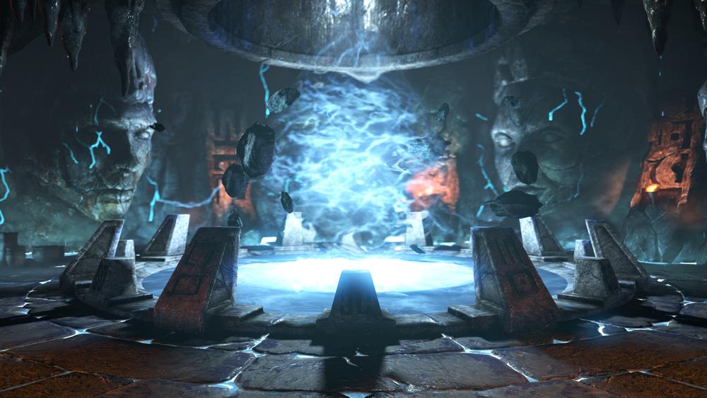 Jinsei Chamber Mortal Kombat Mortal Kombat X Sky Temple