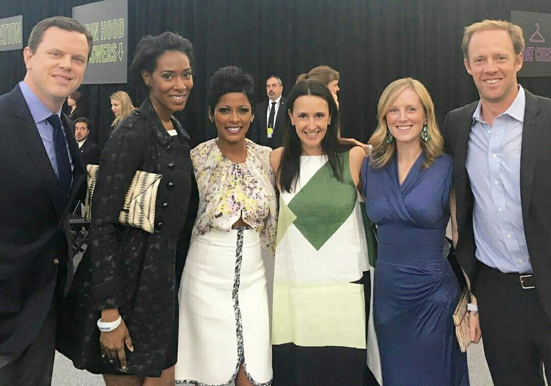 Tamron Hall and friends