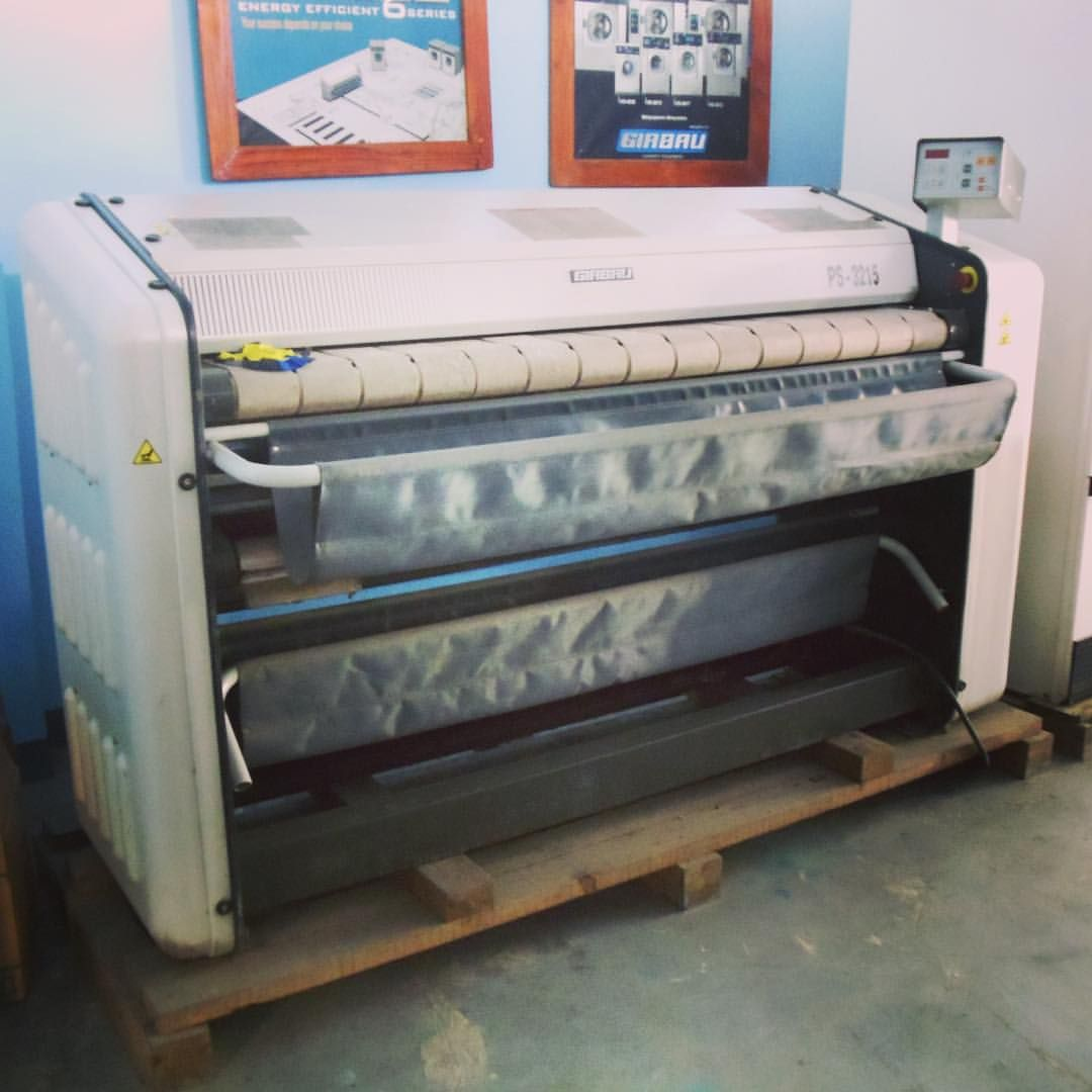 Girbau Spain Ps 3215 Lpg Flatwork Ironer For Hotels Hospitals