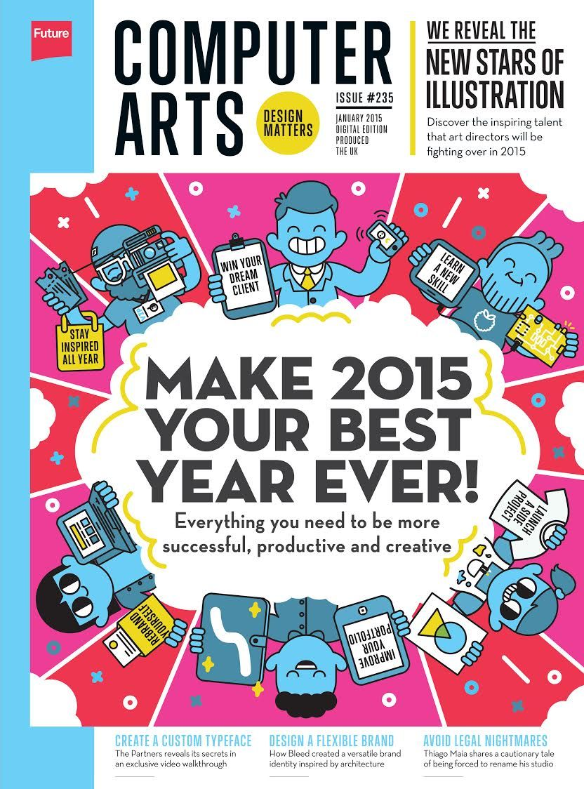 Poster design trends 2015 - Make 2015 Your Best Year Ever Graphic Design Trendscomputer