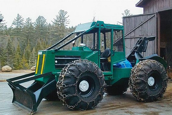 1988 380 Timberjack Log Skidder Logging Equipment For Sale