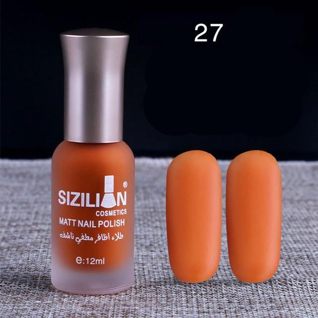 12ml Matte Dull Nail Polish (40 Colors) | Products | Pinterest ...