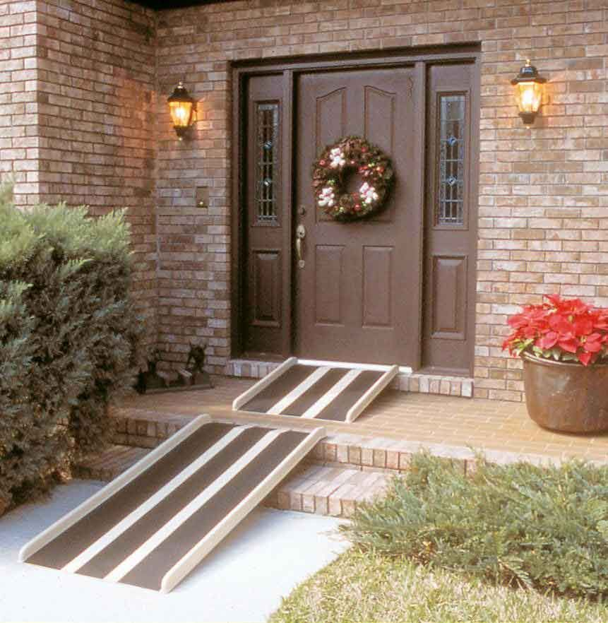 Wheelchair Access Front Door: TravelRamp Fiberglass Wheelchair