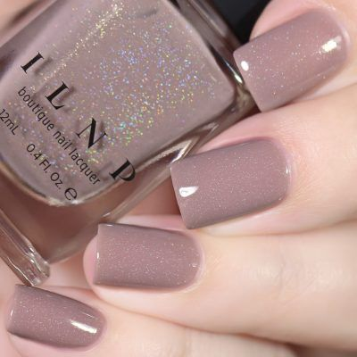Coffee Run - Creamy Mocha Holographic Nail Polish by ILNP