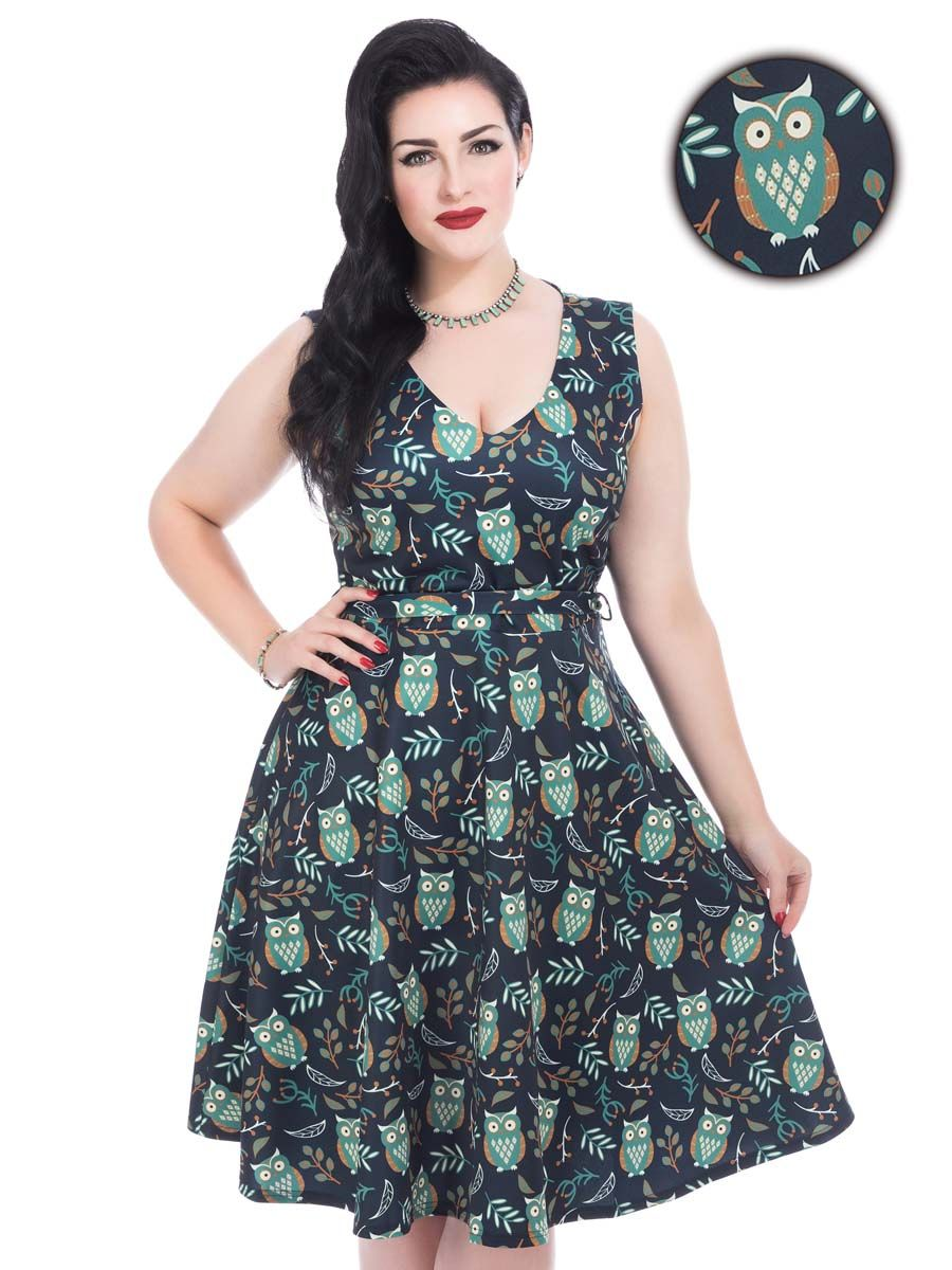 vintage style clothes uk, hooting owl olivia dress : lady vintage | clothes | pinterest | clothes, Design ideen