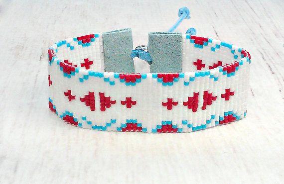 Seed Bead Bracelet - Womens Bracelet - Bohemian Bracelet - Hippie ...