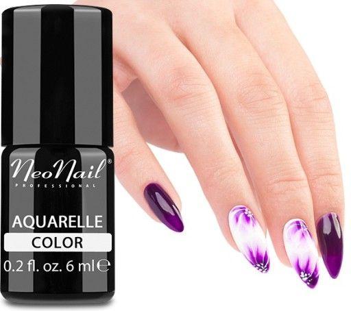 Neonail Lakier Hybrydowy Aquarelle Piekne Kolory 6833025029 Oficjalne Archiwum Allegro Nail Polish Nails Beauty Nails