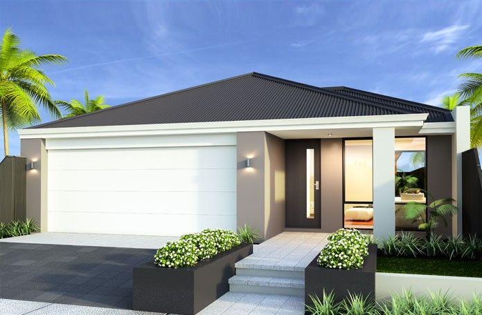 The Challenger 10m Frontage Home Design By Smart Homes For Living.