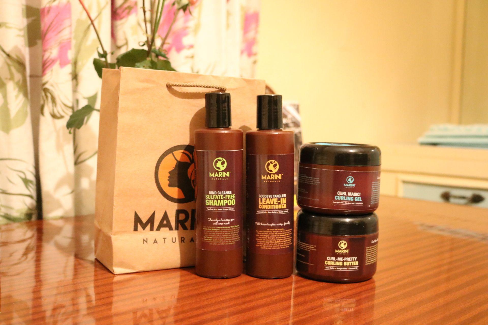 Marini Naturals Review – 100% Organic Natural Hair Products! #organichaircare