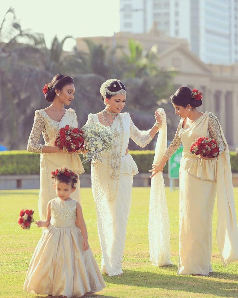weiße hindu Braut