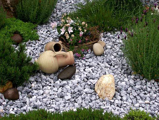 Beet Mit Steinen. die besten 25+ kies garten ideen auf pinterest ...