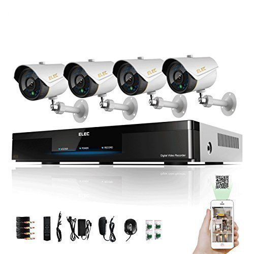 Top 10 Outdoor Security Camera System Reviews Best In 2016 Home Security Camera Systems Security Camera System Best Security Cameras