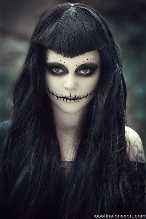 Maquillaje Halloween Pinterest Halloween makeup, Costumes and