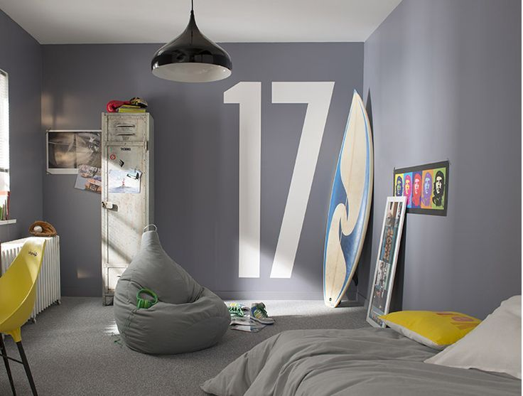 Best Idee Couleur Chambre Ado Contemporary - Seiunkel.us - seiunkel.us