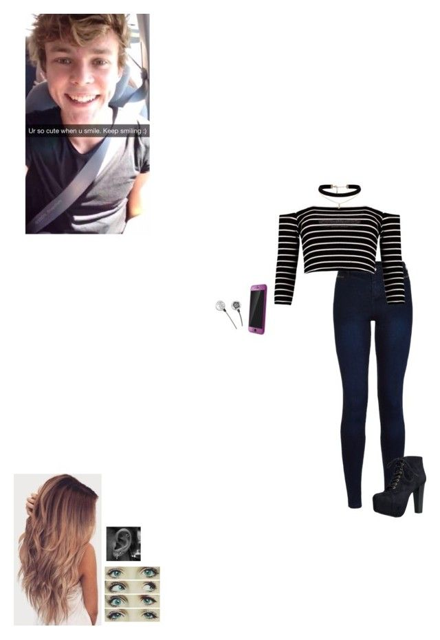 """Snapchatting Ashton"" by katniss-22 ❤ liked on Polyvore featuring Urban Bliss, Speed Limit 98 and ASOS"