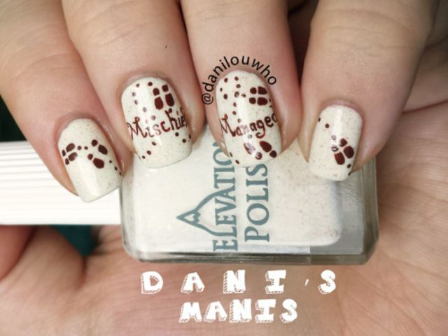 These 20 Examples of Harry Potter Nail Art Deserve All The Points ...